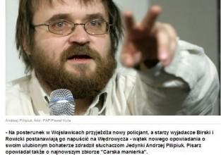 Andrzej Pilipiuk o zbiorze Carska Manierka i mierzeniu się z popularnością.