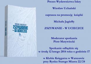 Spotkanie z Michałem Jagiełłą