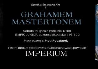 Spotkanie autorskie z Grahamem Mastertonem