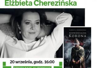 Spotkanie z Elżbietą Cherezińską 20 września Warszawa