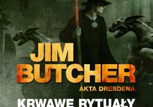 """Jim Butcher, """"Śmiertelne maski"""""""