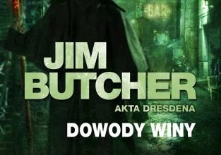 """Jim Butcher, """"Dowody winy"""""""