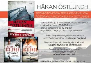 Wyspa strachu - seria kryminalna Hakana Ostlundha - po raz pierwszy w Polsce