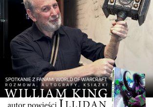 """Zdobądź autograf Williama Kinga – autor """"Illidana"""" w Katowicach"""